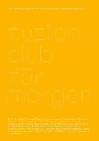 Fusion Club/für morgen